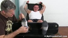 Buff Jock Marco gets tickled until he cant take it anymore