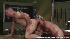 Latino Bounces On Hairy Daddy Jaxton Wheeler's Cock – HOT