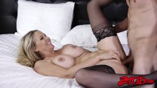 Big booty MILF Julia Ann riding big dick