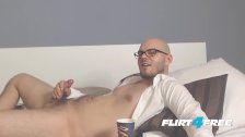 Flirt4Free Jayden Allen - Jerking Off While Chillin on the Couch