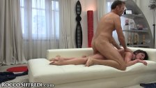 Francesca DiCaprio Dirty Talks in Italian As Rocco Drills her Ass