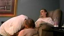 Straighty bareback screwing tight ass