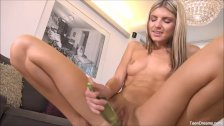Finger Fucks Gina Gerson With Toy