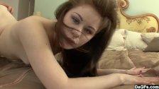 Cute teen wants her pussy eaten
