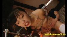 Jav Idol Miriya Chidori Bound And Fucked On Metal Frame Petite School Girl