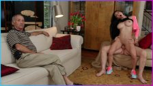 BLUE PILL MEN - Old Men Show Teen Jennifer aka Crystal Rae A Good Time