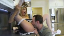 I fucked my maid in the kitchen - Part 2 DOLCEBABES COM