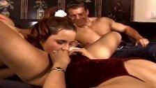 Swinger Lesbians Satisfy Husband