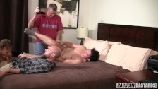 Straight Friends Get Fucked For the First Time Together