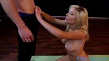 PHILAVISE-A sexy yoga session with Tasha Reign