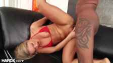 HardX Juicy Ass Blonde's BBC Anal Injection