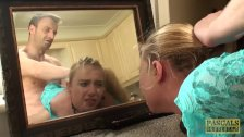 Bound subslut Ivey Passion dominated before lush facial