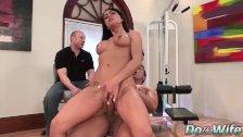 Cuckold Enjoys Watching His MILF Wife Mahina Zaltana Take It Up the Ass