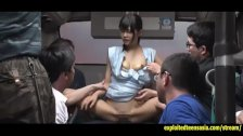 Jav Idol Suzu Yamai Fucked On Bus Old Guys Get There Turn To Jizz On Her