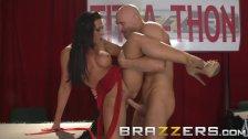 Brazzers -  Rachel Starr uses her big tits to help use money