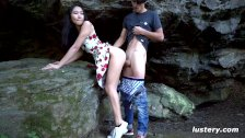 Nature Walk Turns into Amateur Hardcore Sex Session - Lustery