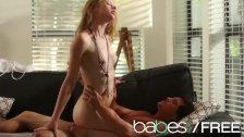 BABES - Skinny blonde Avril Hall rides Tyler Nixon