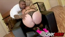 Adriana Nicole ass filled with black cock