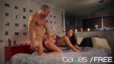 BABES - Hot young couple Amirah Adara, Xavi Tralla Make a romantic sextape