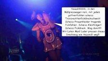 Latex Maid Luder pressen scheiss Transvestitenschwein mit Hausmüll tot