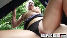 Mofos - Hot blonde Jessie Sinclair - Roadside Sex With Aerobics Instructor