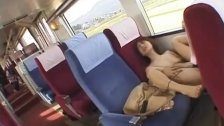 JAV risky train sex busty cheating wife Subtitles