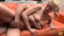 HUNT4K. Sex for cash with stranger drives blonde to several orgasms