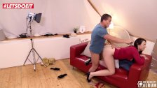 LETSDOEIT - Teen Dutch Slut Teases and Pleases the Photographer!