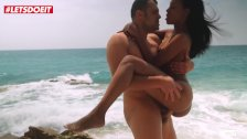 LETSDOEIT - How To Seduce and Fuck Hottest Girl at The Beach