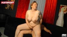 LETSDOEIT - German Mature BBW Cheats with Her Boss