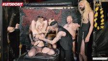 LETSDOEIT - Russian Blonde Angela Vidal At Her First BDSM