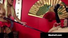 Asian Milf Maxine X Has Kinky Anal Sex With Janessa Jordan!
