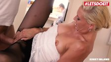 LETSDOEIT - Dirty Step Mom Abused By Her Sons Big Cock