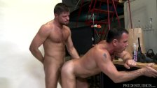 MenOver30 Gay Daddies Play with Cock Ring During Photoshoot