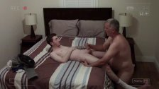 Curious Skater Visits Daddy For A Late Night Rimming And Deep Breeding