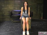 Female army tied Helpless teenager Evelyn