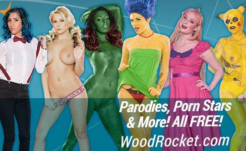 rocket wood porn