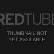 Pretty Asian in striped socks and hair bows Image 9