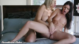 When Hubby is Away the MILFs Squirt and Play!