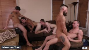 Men- Amateur gay foursome – My Cousin Ashton Part 3 – tube preview