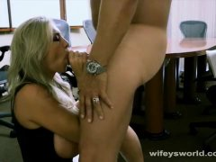 Wifey Swallows To Keep Her Job