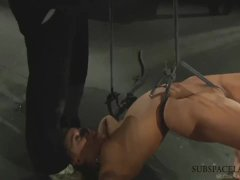 2 Slaves Sluts Tied Up In Rough kinky punish