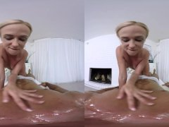 REALJAMVR - HOT ANAL MASSAGE ON THE COUCH