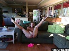 RealGfsExposed - Savannah makes herself cum many times