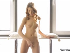 Hot Solo Teen Tini Gets Her Pussy Finger