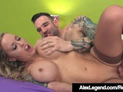 Inked Alexia Vosse Fucked By French Cock Alex Legend!