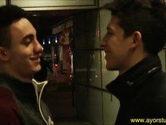 Ali And Javier In Prague