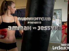 Nudefightclub Presents Amirah Vs Jessyka