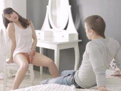 Ira Gives Masturbation Show For Her Boyfriend