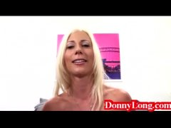 Donny Long tag teams huge titty swedish mom m